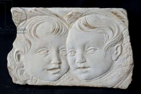 Cherubini, c.1473-1474 (sculpted marble)