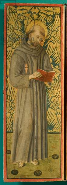Saint Clare of Assisi, 1496 (tempera on panel)