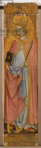 Saint Catherine of Alexandria, 1403 (tempera on panel)