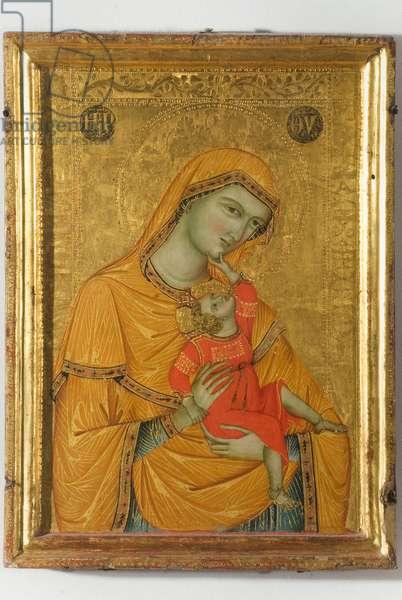 Madonna and Child Jesus, c.1320-1330 (tempera on panel)