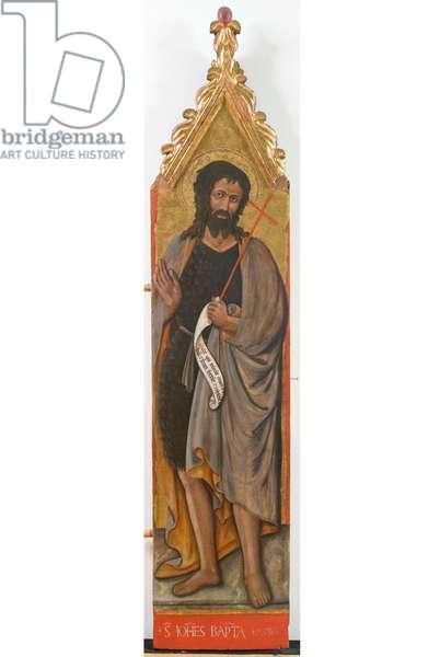 St. John the Baptist, c.1436-1439 (tempera on board)