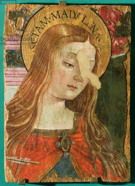 Saint Mary Magdalene, 1487 (tempera on panel)