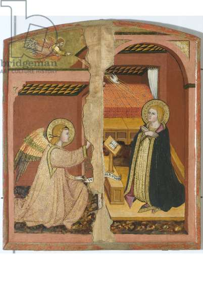 Annunciation, 1405-15 (tempera on board)