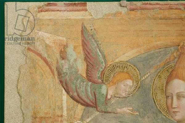 Martyrdom of Saint Juliana, c.1376-1377 (staccato fresco)