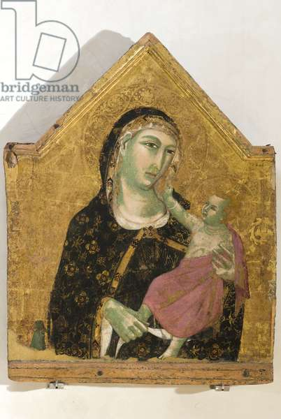 Madonna with Child, 1309-10 (tempera on board)