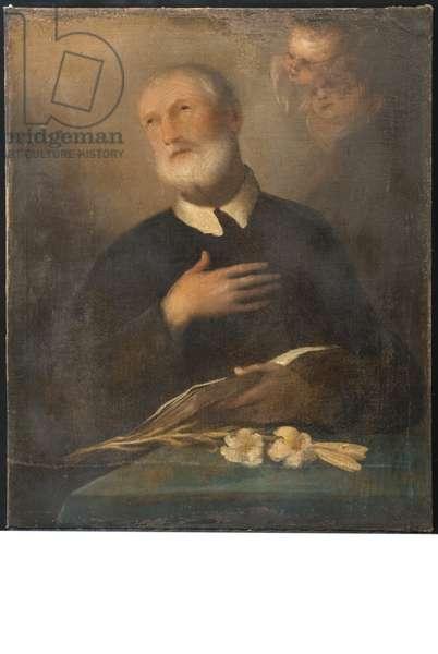 San Filippo Neri, c.1800-1850 (oil on canvas)