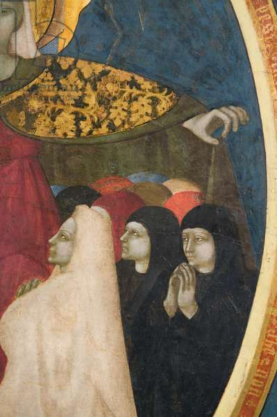 Our Lady of the Recommended; Mystic Lamb, c.1440-1460 (tempera on panel)