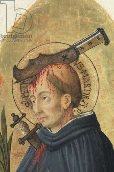 St. Peter the Martyr, c.1447-1450 (tempera and oil on board)