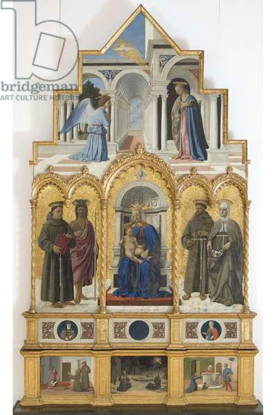 Polyptych of St. Anthony, 1468 (oil on board)