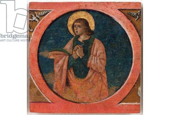 St. John the Evangelist, 1480-90 (Table, Tempera painting)