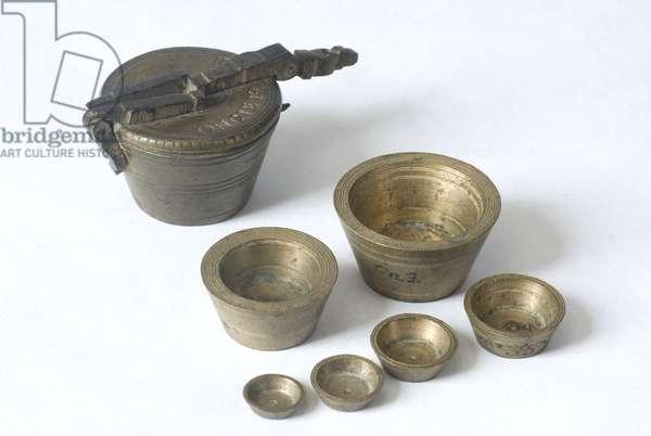 Roman pound with weight gradation (bronze)