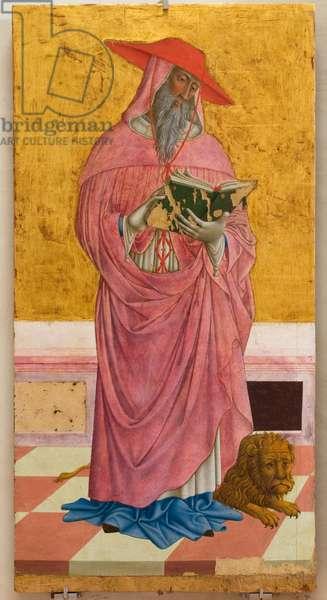 St. Jerome, c.1464-1470 (gouache on board)