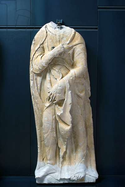 Madonna announced, Facade Majesty of the Times, 1473-76 (limestone, sculpture)