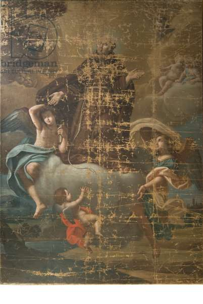 Saint Anthony of Padua in glory, c.1750-1799 (oil on canvas)