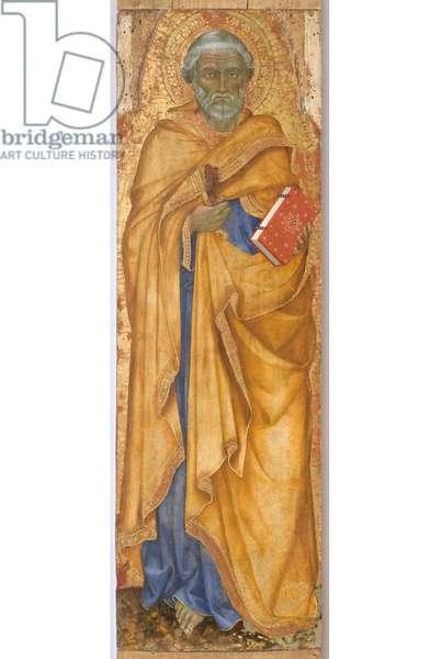 Saint Peter, c.1400 (detail of 5614884) (tempera on board)
