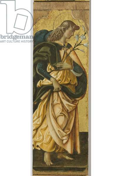 Polyptych of the Sylvestrines (detail) - St. Gabriel the Archangel
