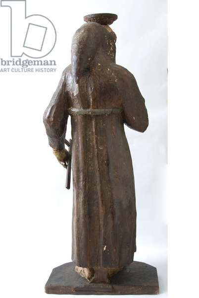 Saint Francis of Assisi, c.1700-1799 (carved and painted wood)