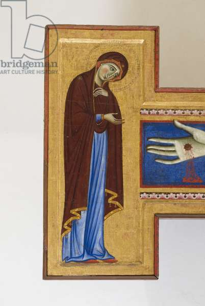 Cristo crocifisso con la Madonna e Santi (detail of 5614860)