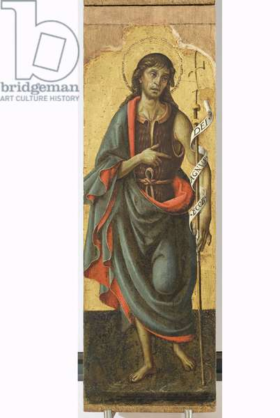 Polyptych of the Sylvestrines (detail) - St. John the Baptist