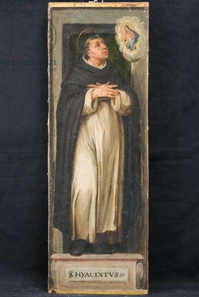 St. Hyacinth Odrowąż, c.1600-1610 (oil on board)