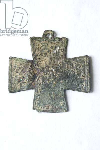 two-sided cross (bronze)
