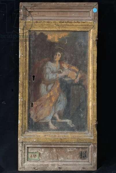 St. Agnes, c.1700-1710 (oil on board)