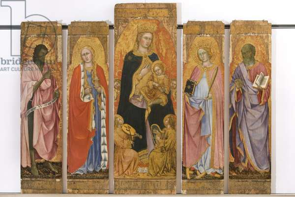 Madonna with Child and Saints, 1403 (tempera on board)