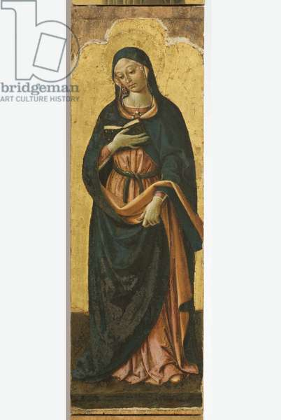 Polyptych of the Sylvestrines (detail)  - Virgin Mary Annunciated