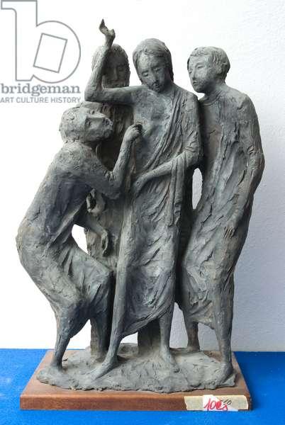 St. Thomas Disbelief, c.1940-1960 (coated terracotta)