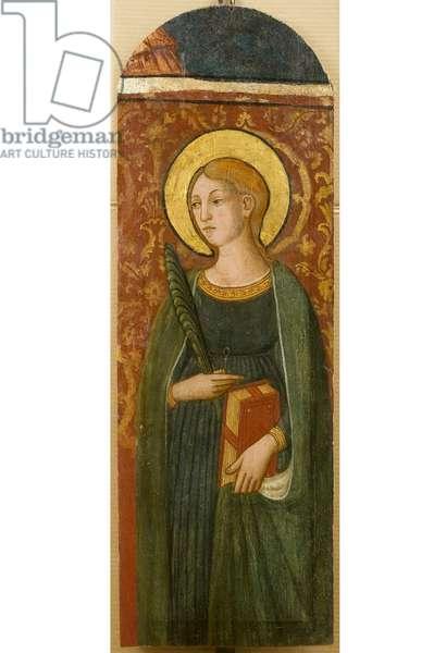Santa Flavia, c.1450-1480 (tempera on board)