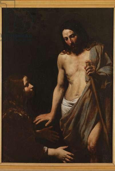 Noli me tangere, c.1620 (oil on canvas)