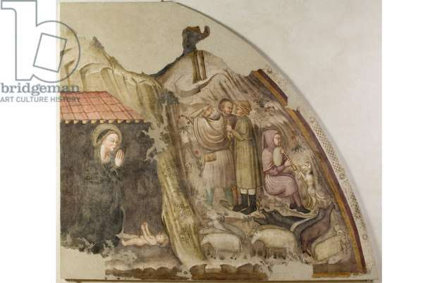 Adoration of the Shepherds, 1360-80 (fresco)