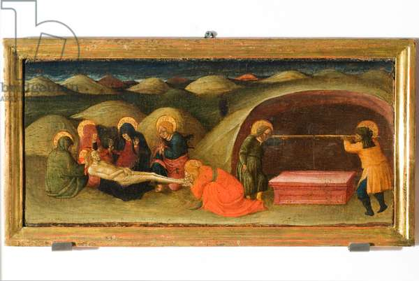 Deposition of Jesus Christ in the tomb, 1437 (tempera on panel)