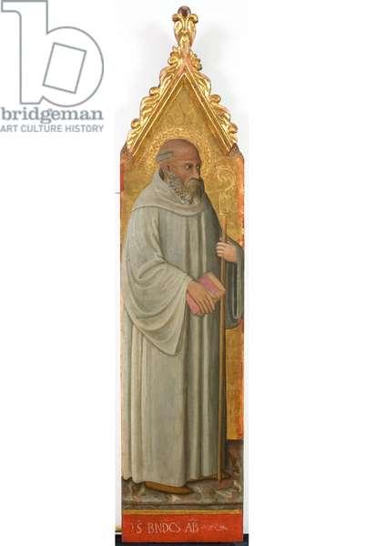 Saint Benedict Abbot, c.1436-1439 (tempera on panel)