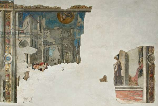 Miracle of Saint Ludwig of Toulouse, c.1455-1461 (fresco finished dry)