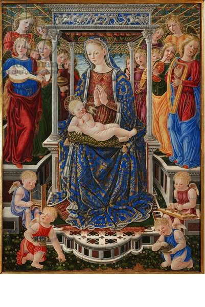 Madonna with Child and Angels, Madonna of the Orchestra