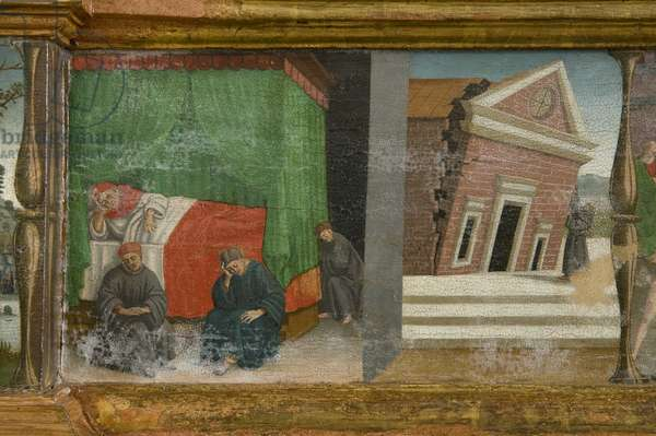 Altarpiece of the Franciscans of Paciano (Table, Tempera painting) - detail