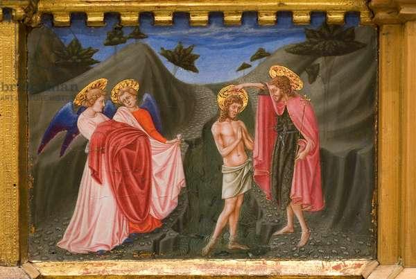 Baptism of Jesus Christ, 1438 (tempera on panel)