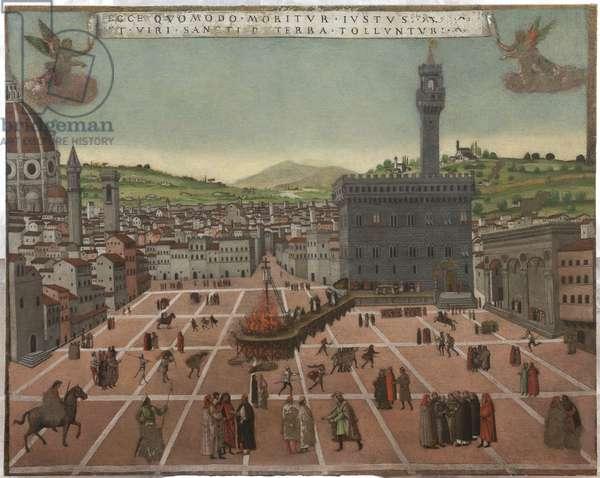 Torture of Fra Giovanni Savonarola