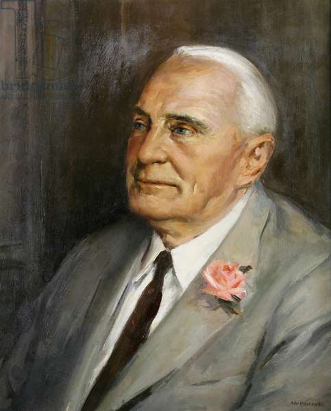 Portrait of Mr. Sydney Heath (oil on canvas)