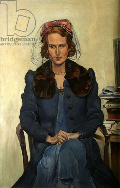 Portrait of Miss Close, 1939 (oil on canvas)
