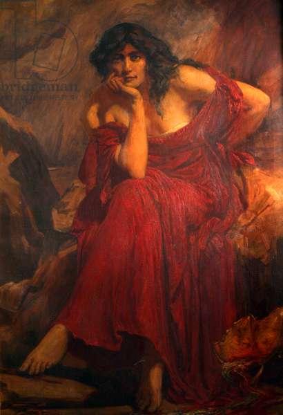 Ceridwen, 1910 (oil on canvas)