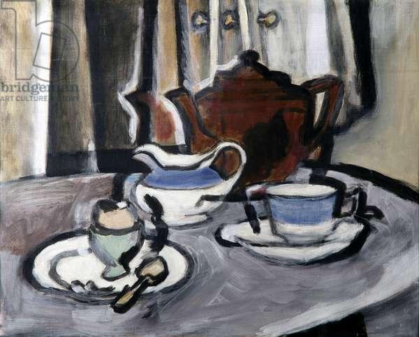 Breakfast, c.1944 (oil on canvas)