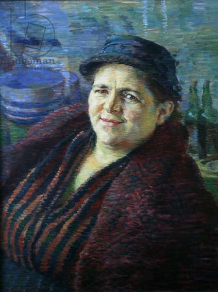 Cockle Woman, 1939 (oil on canvas)