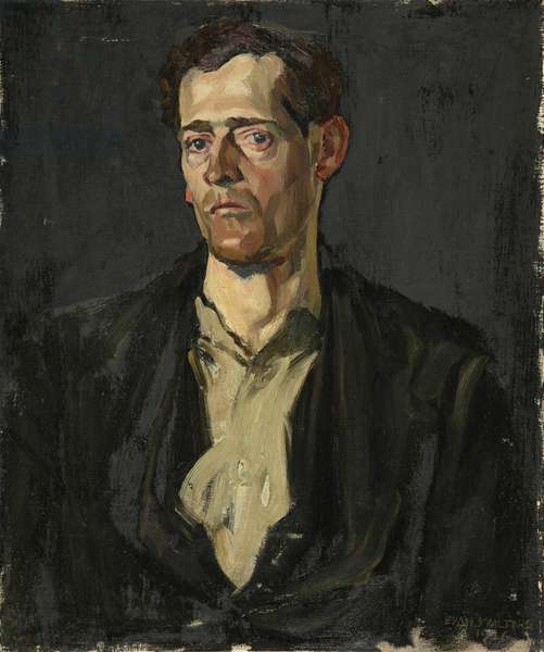 Welsh Collier, 1926 (oil on canvas)
