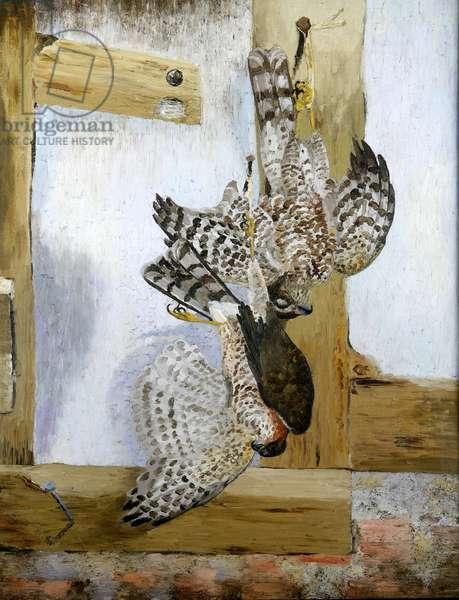 The Sparrow Hawks, 1929 (oil on canvas)
