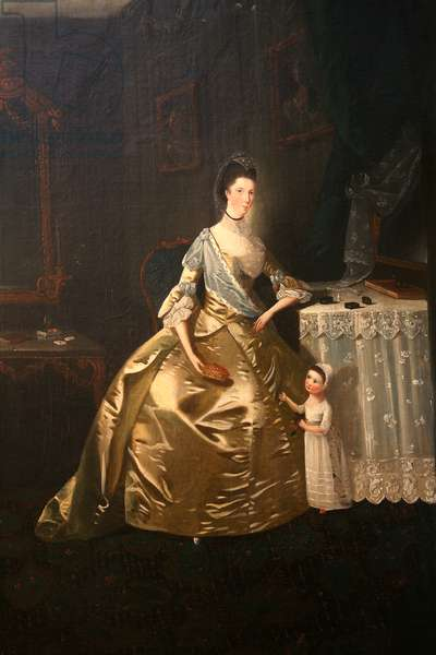 Mrs Mary Morgan, c.1770 (oil on canvas)