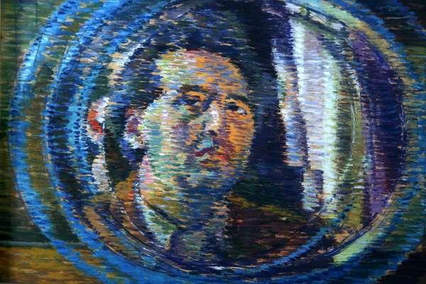 Self Portrait, 1936-40 (oil on wood panel)
