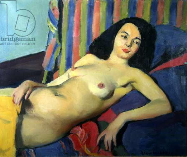 Nude, 1933 (oil on canvas)