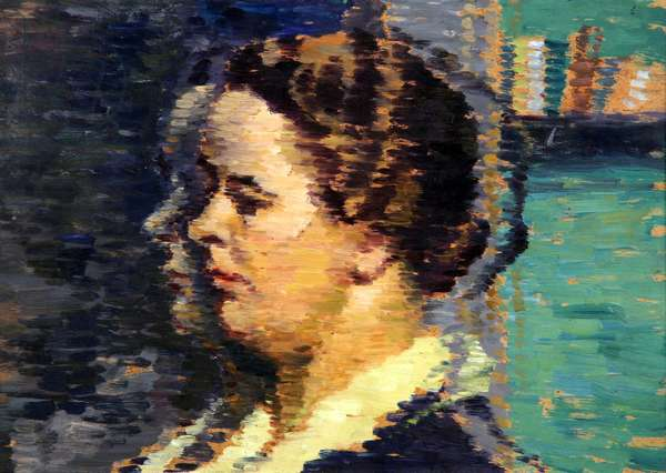 Portrait of a Lady, 1936-40 (oil on wood panel)